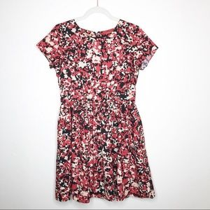 Red Sack's Fifth Avenue Abstract Print Dress